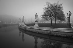 Nebbia - Fog (Explored) (Immacolata Giordano) Tags: padova padua veneto italia italy pratodellavalle nebbia fog nikond7000 natale