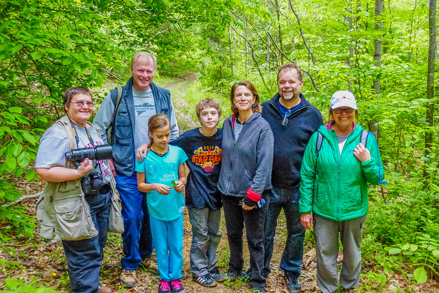 Nature Photography Ecotour - Yellowwood State Forest - May 17, 2014