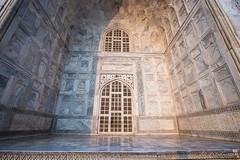 Mausoleum Marble 7879 (Ursula in Aus) Tags: india architecture taj tajmahal marble earthasia
