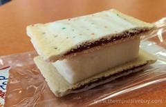 Harvey's Strawberry Pop-Tart Ice Cream Sandwich Closeup