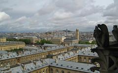 Vue Nord depuis les tours de Notre-Dame (myvalleylil1) Tags: paris notredame roofs sacrcoeur printemps toits