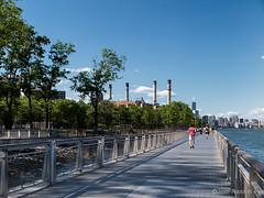 East River Park (Joel Raskin) Tags: park nyc newyorkcity les canon cityscape manhattan lowereastside smokestacks eastriverpark nycparks urbanpark g1x2 g1xmarkii g1xmkii