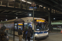 B74 Bus at Coney Island–Stillwell Avenue (LiKenun) Tags: bus coneyisland terminal boarding stillwellavenue mermaidavenue b74 coneyisland–stillwellavenue