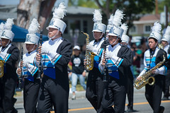 North Torrance High School (mark6mauno) Tags: school high nikon day north band parade annual nikkor clarinet forces armed torrance 2014 55th d4 70200mmf28gvr saxons nikond4 55thannualtorrancearmedforcesdayparade