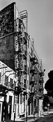 avoid apt. 3b (pbo31) Tags: sanfrancisco california summer urban blackandwhite northerncalifornia june alley nikon apartment large panoramic 3b bayarea soma stitched avoid 2014 goughstreet d700