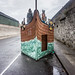 IMAGES FROM THE STREETS OF LIMERICK - BOTTLE BANK IN DISGUISE