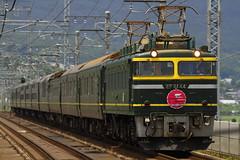 EF81-44 + Twilight Express (Kaz_0609) Tags: railroad japan canon eos jr sleepingcar twilightexpress ef81  eos7d