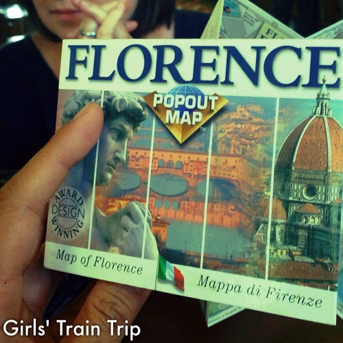Off to #florence with one of my besties. @hambino #italy I really love trains.#grateful