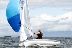 420 spinaker (tesseract33) Tags: world ocean travel sea colour art sailing sailboats nikondigital sailboatracing 420sailboats nikond300 bcsummergames tesseract33 peterlangphotography