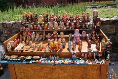 Russian nesting dolls, Riga, Latvia (**Anik Messier**) Tags: travelling souvenirs europe latvia riga russiandolls russiannestingdolls matroschkapuppen