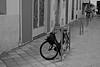 Moto vélo (ancientlives) Tags: blackandwhite france 35mm nice cotedazur fuji streetphotography provence frenchriviera fujixt1