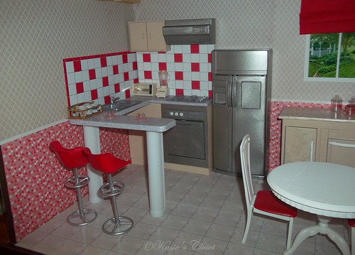 Charmant Painted Gloria Barbie Furniture Kitchen