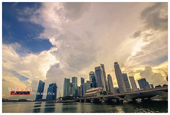 Big Clouds Sky @ Marina Bay Singapore_5924 (wsboon) Tags: city travel cruise light sky holiday color tourism water architecture clouds composition buildings relax corporate design photo google search nikon singapore asia exposure cityscape view nocturnal skyscrapers heart perspective visit tourist calm explore photograph land destination serene cbd pimp nocturne dri singapura centralbusinessdistrict blending singaporeriver singaporecityscape masteratwork marinabay uniquelysingapore singaporecity peopleculture marinabaysands d700 singaporecruise singaporelandscape singaporetouristattractions nocommentsimplyperfectsingaporeview singaporefamouslandmarks