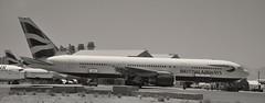 A British Airways Boeing 767-300 (sfPhotocraft) Tags: california plane aircraft british ba boeing britishairways boneyard 767 victorville boeing767 boeing767300 gbnwu