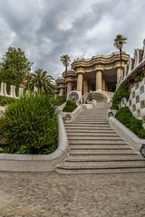 Parc Guell_3155 (bienve958) Tags: parque arquitectura bcn gaudi parcguell parkguell parquegell antoniogaudi