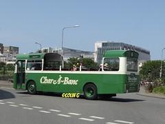 Westward bound (Coco the Jerzee Busman) Tags: bus bristol tiger ps1 cannon jersey swift char tours banc leyland stringer wadham lcb ecw lh6l