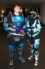 MCM Expo Manchester UK 2014 (Kat) (McCluckles) Tags: uk manchester kat comic expo july halo reach con 19th mcm 2014