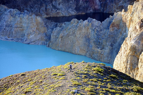 Crater Lakes of Kelimutu Volcano