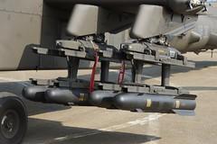 Hellfire missile of AH-64E Apache Longbow (James Tung) Tags: apache taiwan taichung boeing   hellfire longbow cck   rocarmy  chingchuankang    taiwanesearmy ah64e
