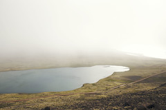 (HereNorth) Tags: travel lake west digital 35mm canon lens photography eos iceland pond mark f14 sigma full international ii frame 5d fjords herenorth