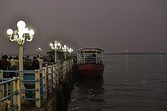 HussainSagar_Boating1 (arunpnair) Tags: lake boat hyderabad tankbund hussainsagar