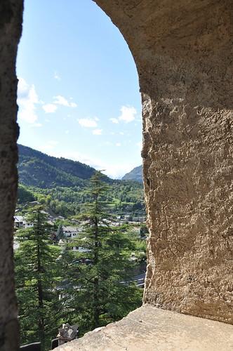 Castello di Introd - vista dalla torre