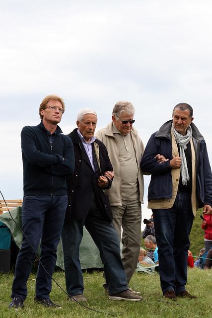 Il Presidente del Comitato Franco Marini con il M° Ermanno Olmi