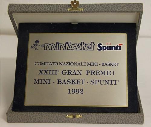 Gran Premio Minibasket Spuntì 1992