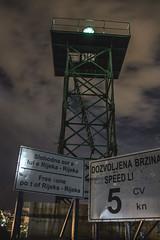 beacon (Tin Puvaa) Tags: nightphotography signs 30 night canon landscape photography eos 5 iii efs1855mm croatia 200 100 mm myphoto beacon knots rijeka nighscape f3556 1100d mololongo 35