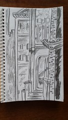 New Paper Experiment (Quickie) (Wayne Wolfson) Tags: pencil sketch drawing 1minutesketch waynewolfson
