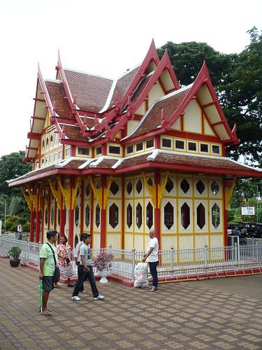 The cutest little train station in Thailand (Hua Hin)