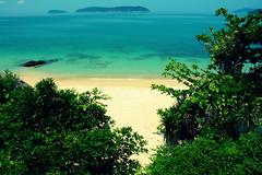 Beach (free3yourmind) Tags: blue green beach island vietnam waters culaocham