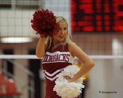 University of Arkansas vs Tennessee State University Volleyball (Garagewerks) Tags: woman college sport female university all state tennessee sony volleyball arkansas cheerleader f28 70200mm views50 views100 views200 views300 views250 views150 slta77v