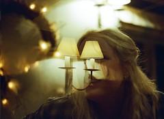 Sophie (OliverJohnFernandez) Tags: sunset shadow summer sky sun abstract art film beach girl skyline analog festive fun lomo lomography scenery flickr pentax doubleexposure awesome grain ishootfilm bikini serene analogue incredible pentaxmesuper filmisnotdead multipleexpossure ishootdead