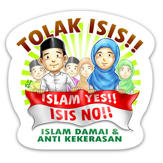 Stiker Tolak ISIS