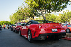 599 GTO in Rosso Corsa (Stephen Hennessey) Tags: auto cars car automobile voiture coche carros carro autos coches voitures wagen