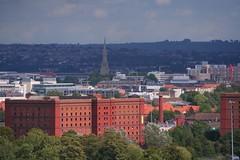 Red Brick in Sunshine (EMStanton) Tags: bristol warehouses factories redbrick stmaryredcliffechurch