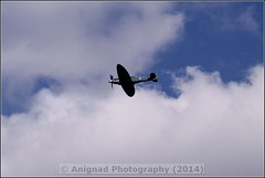 Supermarine 389 Spitfire PR19 (G.L. Photography) Tags: lifeboat devon lancaster spitfire blades redarrows raiders chipmunks seaking rnli spearman beech18 dawlishairshow yak32