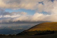 Clouds Level (luca_pictures) Tags: sky mountains clouds sunrise woods top valley casali sibillini ussita fargno