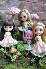 Mori Blythe dolls