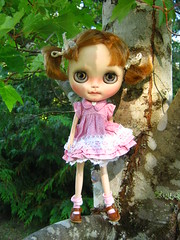 """IMG_0633...""""I can climb any o'l tree , even with a dress on!"""""""