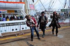 Pirates of Falmouth. Nikon D300s. Nikon DSC_4357. (Robert.Pittman) Tags: marina docks harbour pirates estuary falmouth tallships thesouthwest thewestcountry d300s afsdxnikkor1855mmf3556gvr nikond300s iamnikon darmlodzifzy