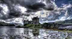 Eilean Donan Castle (scrapping61) Tags: castle scotland highlands unitedkingdom loch sincity tistheseason 2014 scrapping61 stealingshadows daarklands legacyexcellence trolledproud trollieexcellence daarklandsexcellence pinnaclephotography poeexcellence