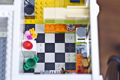 Emmet's Apartment: The Kitchen (Doug Bowker) Tags: brick movie fun apartment lego bricks creative custom build studios ideas emmett wildstyle moc emmet legoideas legomovie ideaslegocom