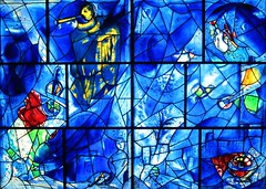 Chagall's Stained Glass Windows (supernova9) Tags: chicago art glass stainedglass artinstituteofchicago chagall aic stainedglasswindows marcchagall chagallswindows