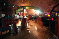 The Irish Bar,Budapest,Hungary (djshoo) Tags: city beer pub arch wine bricks guiness kegs 2014