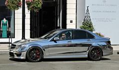 Mercedes-Benz C 63 AMG (W204) (SPV Automotive) Tags: sports car sedan c 63 exotic chrome mercedesbenz amg w204