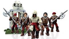 New Assassin's Creed Mega Bloks! (ToyWiz.com) Tags: brick toy collectible megabloks minifigure buildingblocks ezio assassins assassinscreed buildingbrick toywiz microfigure toywizcom