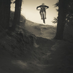 Aaron Gwin Rides the Snow Summit Bike Park