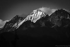 ~ Last Light ~ (£$þ) Tags: blackandwhite evening emotions lastlight travelphotography eastindia westsikkim goechalatrek indianhimalayas trekkingadventure kanchenjungarange lsp12photography mtjopuno